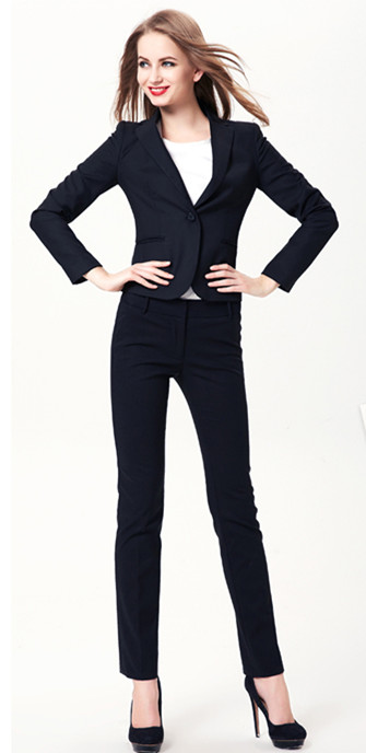 Popular Womens Work Navy Suit-Buy Cheap Womens Work Navy Suit lots ...