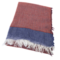 silk wool cashmere blend women fashion patchwork color plaid scarfs shawl pashmina 75x200cm 4side small fringed