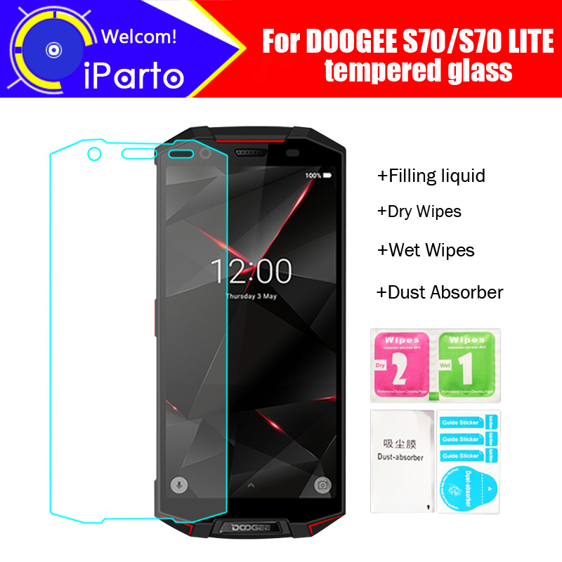 5.99 inch DOOGEE S70 Tempered Glass 100% High Quality Premium 9H 2.5D Screen Protector Film For DOOGEE S70 LITE (Full Cover)5.99 inch DOOGEE S70 Tempered Glass 100% High Quality Premium 9H 2.5D Screen Protector Film For DOOGEE S70 LITE (Full Cover)