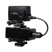 Free Shipping 2017 Newest Xiaomi Yi 4k Accessories 5200mAh Camera Move Power Bank Supply For Xiaomi
