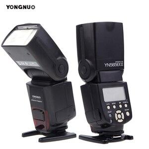 Image 3 - Yongnuo YN 565EX II YN565EX TTL Flash Speedlight for Canon 6D 60d 650d For Nikon D7100 D3300 D7200 D5200 D7000 D750 D90