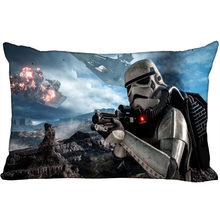 Star Wars Hot Sale New Arrival Rectangle Pillowcase Wedding Decorative Pillow Case Customize Gift For Pillow Cover (two-sides)