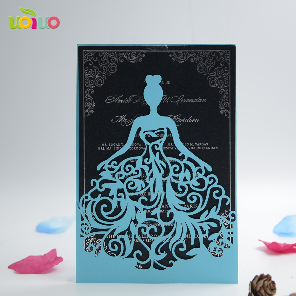 30pcs free shipping Creative unique wedding invitations