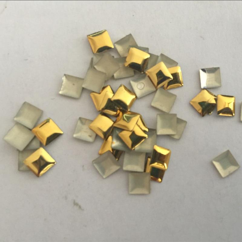 250 Silver o Gold pernos de Metal Square Star corazón en forma de lágrima Artesanal Adorno