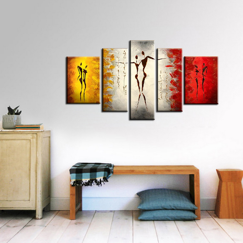 Buy 5 Piece Picture Canvas Art Wall Painting Decorative Pictures Abstractas