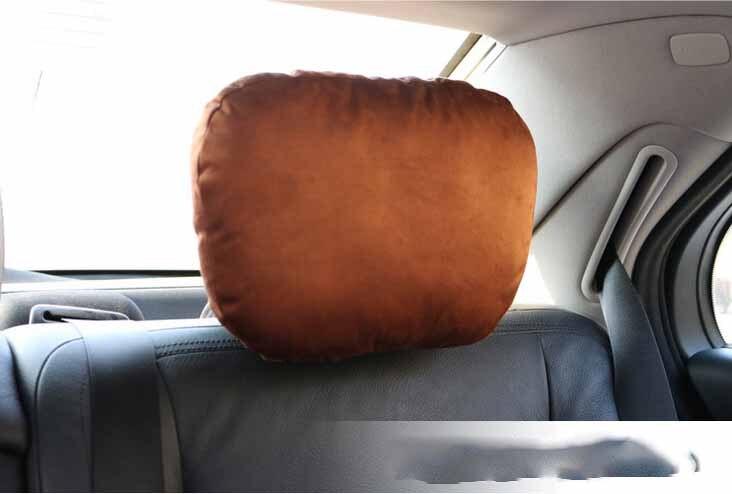 Wholesale 100pcs Comfortable Soft Dual use Headrest Pillow Neck Cushion Massage Relaxation for Car