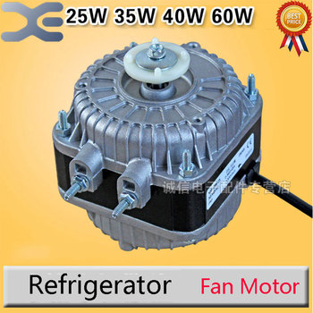 25W / 35W / 40W / 60W New Refrigerator Cooling Fan Condenser Motor Fan Motor