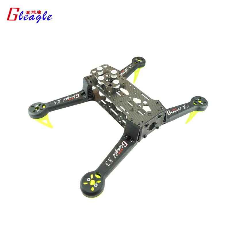 Gleagle High Quality Carbon Fiber Mini 250 FPV Quadcopter Frame Mini Quad Frame Holder For ZMR250 QAV250 diy carbon fiber frame arm with motor protection mount for qav250 zmr250 fpv mini cross racing quadcopter drone