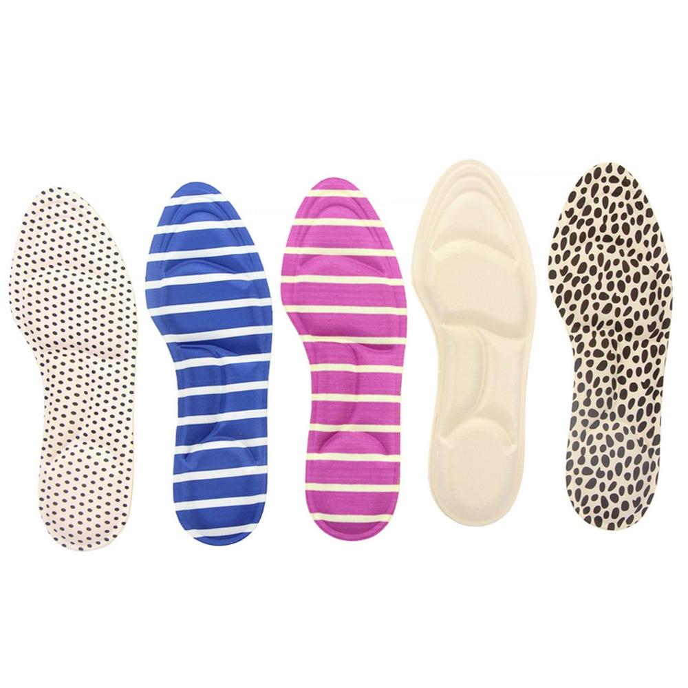 new product 92fc9 bc80c Prime Éponge Plat Pied Semelle Orthopédique Semelles pour Chaussures  Insérer Arch Support Pad pour Fasciite plantaire Soins Des Pieds Outil  Z28601