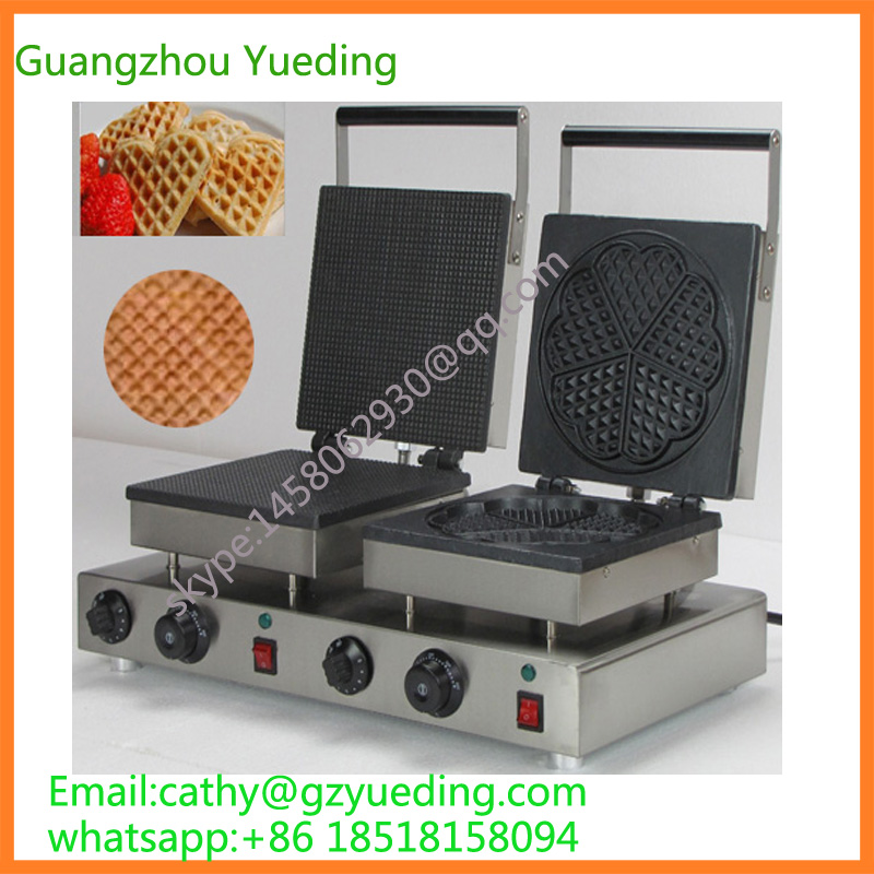 China supplier stainless steel commercial rectangle cone waffle & heart waffle maker stainless steel axle sleeve china shen zhen city cnc machine manufacture