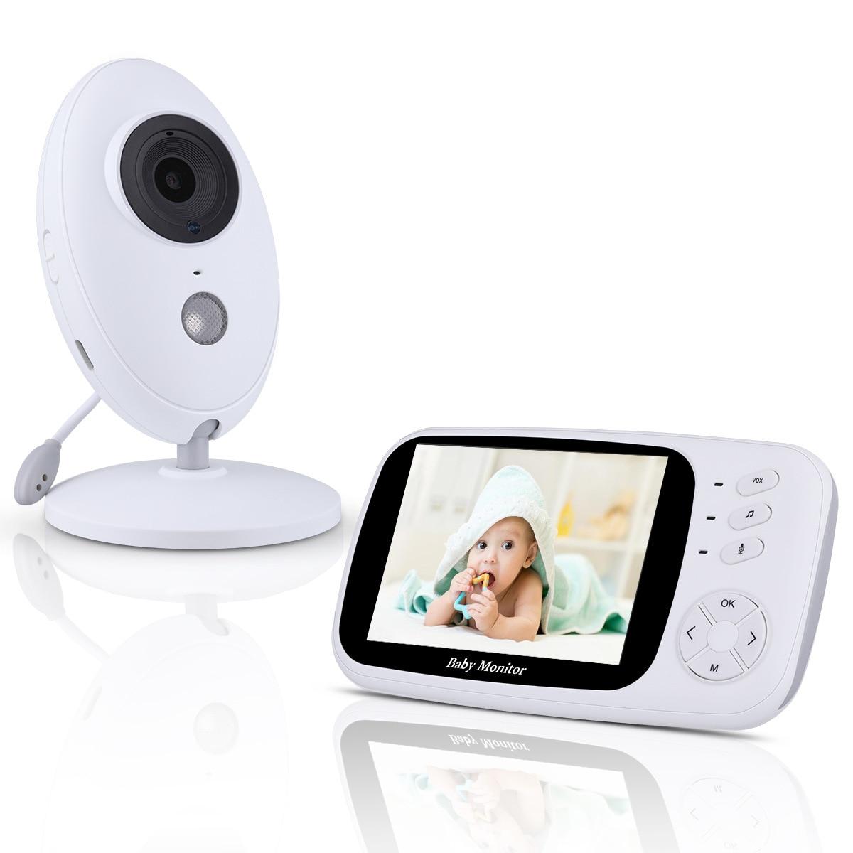 XF808 3.5 pouces sans fil vidéo bébé moniteur caméra vision nocturne bébé sommeil nounou sécurité vidéo caméra moniteur LCD moniteur-in Bébé Moniteurs from Sécurité et Protection on AliExpress - 11.11_Double 11_Singles' Day 1