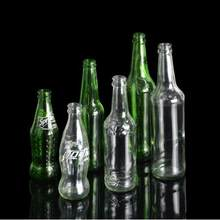 1 PC Self Explosion Bottle - Transparent/Green Bottle Magic Tricks Magic Bottle Mentalism Magic Tricks Stage Magia Toys Classic(China)
