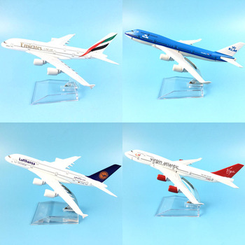 16CM   787 A380 747 777     AIRLINES METAL ALLOY MODEL PLANE AIRCRAFT TOY WHEELS  AIRPLANE BIRTHDAY GIFT COLLECTION DESK TOY 16cm 787 a380 747 777 airlines metal alloy model plane aircraft toy wheels airplane birthday gift collection desk toy