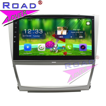 TOPNAVI Android 6.0 2G+32GB 10.1 Car PC Head Unit Auto Audio For Toyota Camry 2006 Stereo GPS Navigation NO DVD Player Two Din  - buy with discount