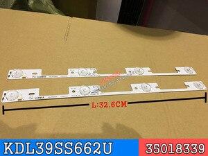 Image 5 - 新 100 個 led バックライトバー康佳 KDL39SS662U 35018339 35018340 327 ミリメートル 4 led (1 led 6 v)
