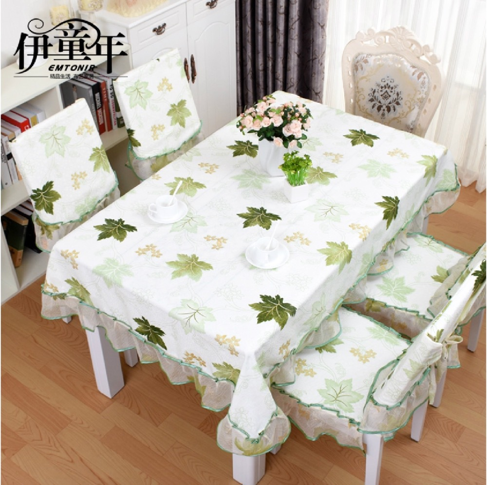 Square Rectangular Tablecloth Table Runner Dining Table