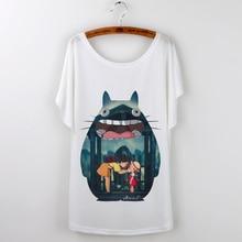 Totoro harajuku Camisetas T Shirt