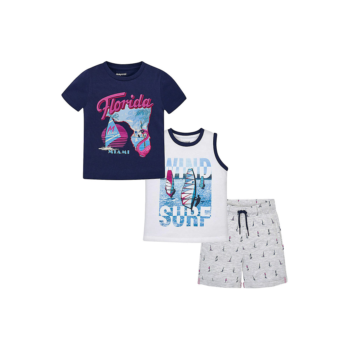 Baby's Sets MAYORAL 10681456 set of clothes for kids T-shirt legs shirt shorts girls and boys hot summer sportswear jerseys shorts skeleton pattern cycling sets for outdoor sport