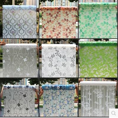 window grilles paper stick frosted sticker perviou