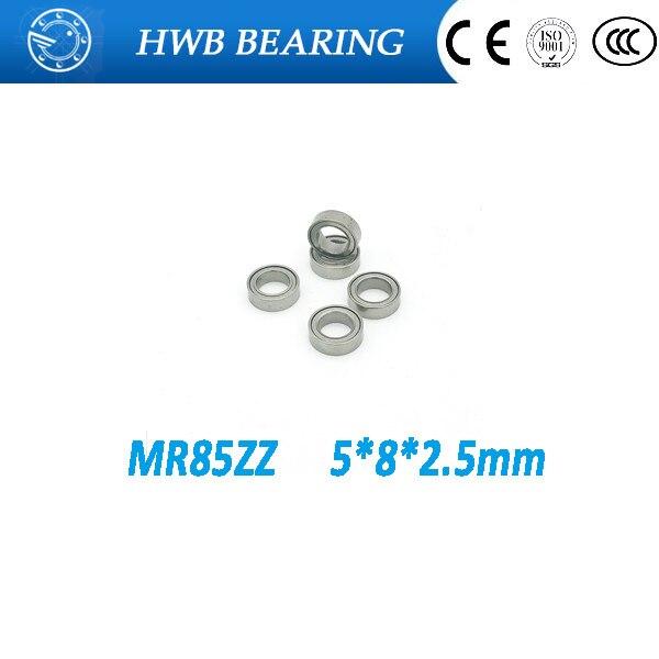 Free shipping---high quality 50PCS MR85ZZ Miniature bearing  P6  MR85 ZZ 5*8*2.5mm ball bearings  mr852z free shipping 10pcs mr62zz mr63zz mr74zz mr84zz mr104zz mr85zz mr95zz mr105zz mr115zz mr83zz miniature bearing