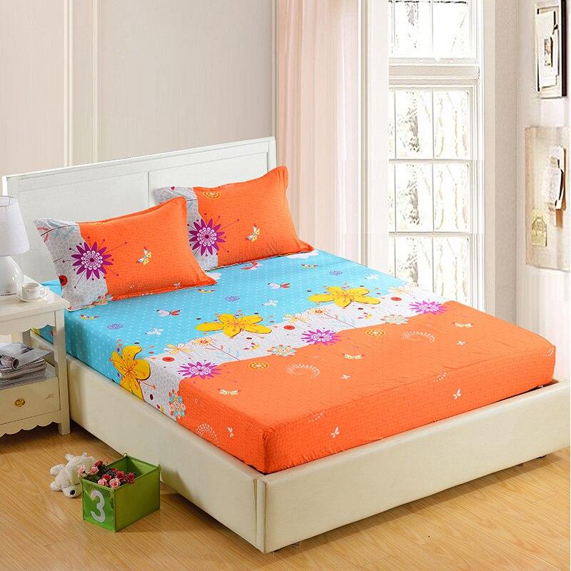 1 stück 100% Polyester Spannbetttuch Matratzenbezug Vier Ecken Mit Gummiband Bettwäsche 90 cm * 200 cm 160 cm * 200 cm