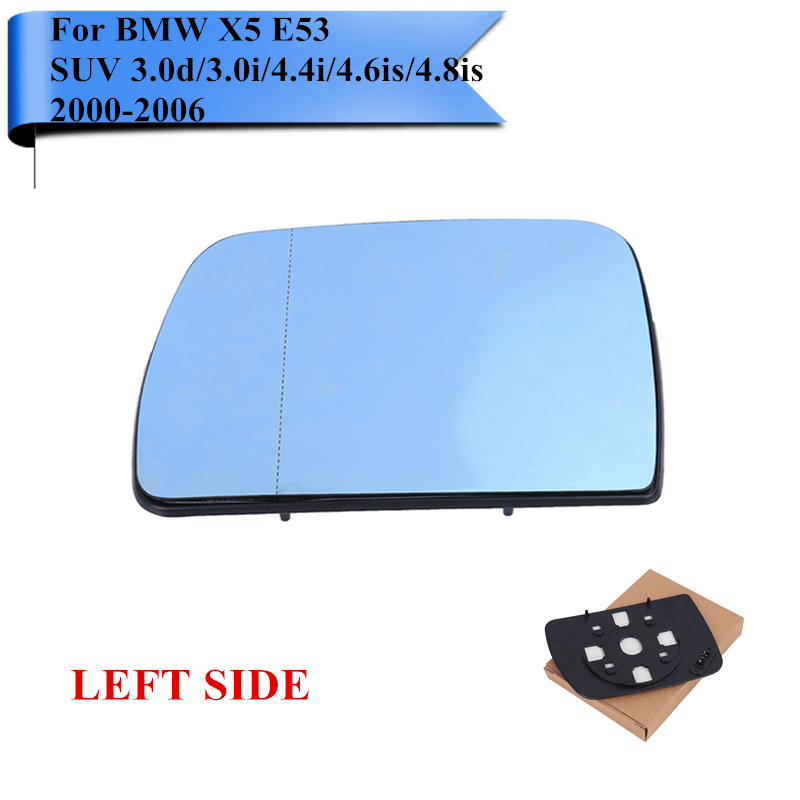 Left Driver Side Mirror Heated for BMW X5 E53 Land Rover Range Rover MK III SUV