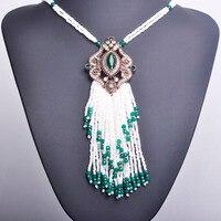 Blucome Turc Royal Blanc Perles Gland Collier Grand Long Pendentif Or Couleur Vintage Déclaration Collier Pour Les Femmes Parti Pull