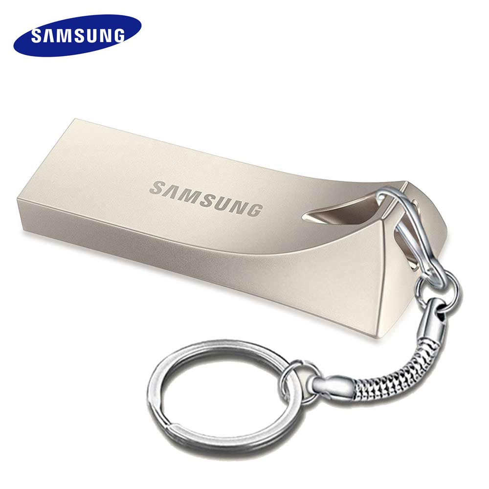 Samsung Cle Usb 3.0 Pen Drive 32gb 64gb 128gb Memoria Usb Metal Pendrive DIY Custom Logo Computer Flash Drive BE3 Disk On Key