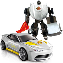 Anak-anak Klasik Robot transformasi Mobil Anime Seri Paduan Action Figure Mainan Model Transformasi Robot Mobil Mainan untuk Anak Hadiah