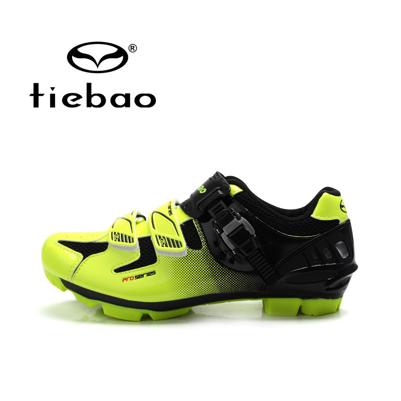 TIEBAO Professional MTB Cycling Shoes Men Women Mountain Bike Self-locking Shoes Breathable Bycle Nylon-fibreglass Sole Shoes women s cycling shorts cycling mountain bike cycling equipment female spring autumn breathable wicking silicone skirt