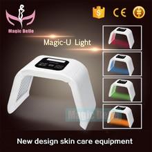 Big sale, led beauty light mask Omega light 7 color skin rej