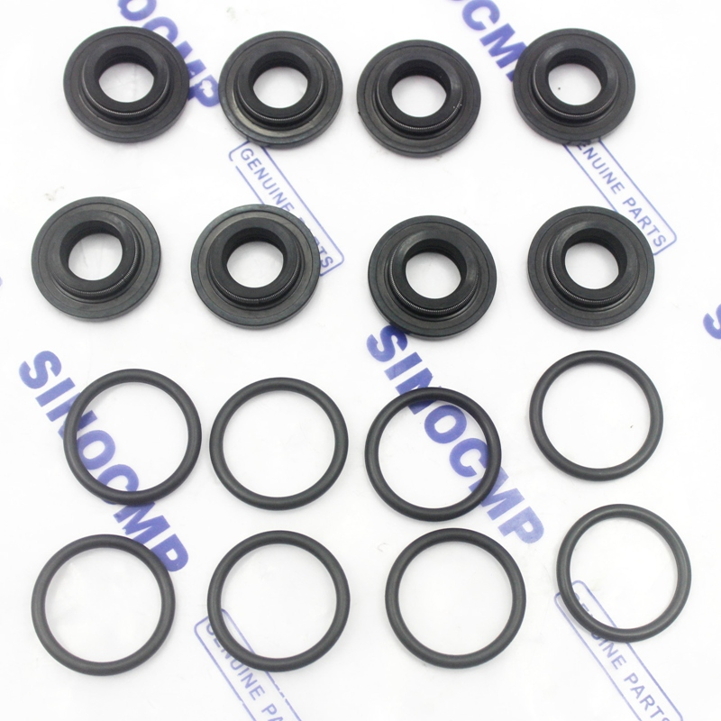 EX130-5 PPC Seal Kit for Hitachi Excavator Pilot Valve Service Repair Seals, 3 month warranty
