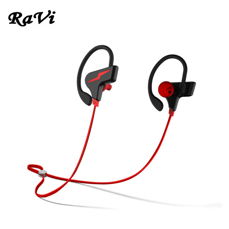 RAVI Wireless Bluetooth Earphone In-Ear Earbuds Bluetooth Headsets Sports Earphones fone de ouvido With Mic For iPhone Xiaomi new arrival sports fone de ouvido earphone awei a890bl wireless bluetooth earphones audifonos with microphone for xiaomi iphone