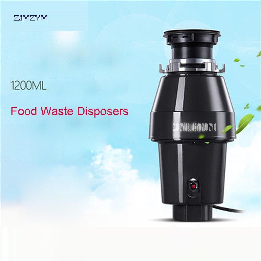 370w dc motor tecnologia rápida e fácil de montar cozinha resíduos alimentares disposers + interruptor de ar, LD370-A1 lixo doméstico 220v