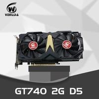 VEINEDA Video Card Original New Graphic Cards GT740 2GB GDDR5 128Bit 740 HDMI VGA