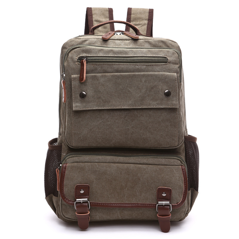 Unisex Vintage Backpack Men Travel Bags Canvas Bag Mochila Masculina Laptop Backpacks Women School Bag for Teenager Back Pack ювелирное изделие 01c614076