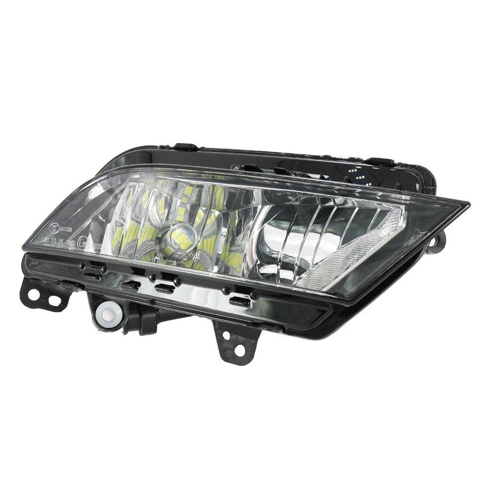 Правой стороны автомобиля СИД свет для Сеат Ибица 2013 2014 2015 2016 2017 передний бампер светодиодные Противотуманные фары противотуманная фара