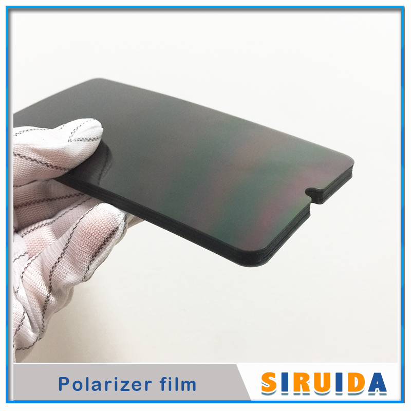 50pc LCD Polarizer Film For Samsung Galaxy M10 A10 A20 A30 A50 A70 A80 A90 A105 A305 A920 Display Screen Polar Sheet Replacement-in Phone Screen Protectors from Cellphones & Telecommunications