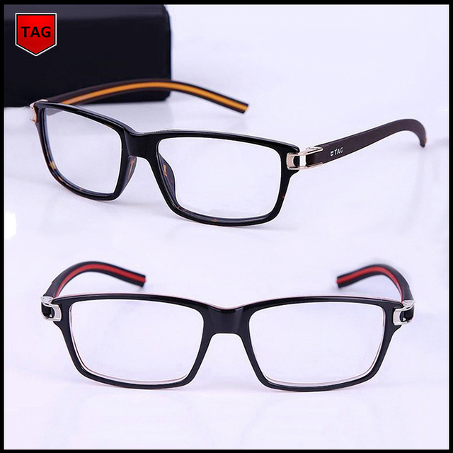 fb6238f4f9 2018 Retro glasses frame TAG brand designer fashion star style TR90  computer vintage spectacle frames optical