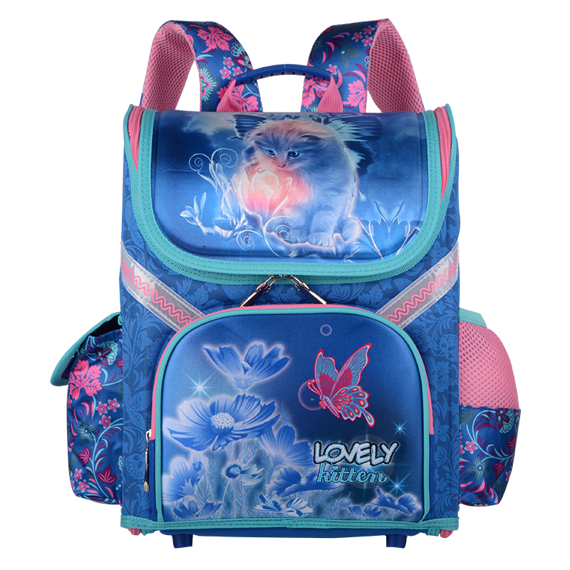 Childrens Backpack Grade 1-3-6New Boys School Bags Orthopedic Backpack Cat Butterfly Bag For Girl Kids Satchel Knapsack MochilaChildrens Backpack Grade 1-3-6New Boys School Bags Orthopedic Backpack Cat Butterfly Bag For Girl Kids Satchel Knapsack Mochila