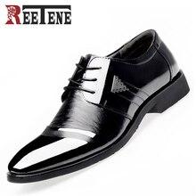 Мужчины Платье Обувь Весна Бизнес Оксфорды на шнуровке Ботинок квартир Моды Большой Размер Одного Свадебные Туфли Кожаные Ботинки Оптовая(China (Mainland))
