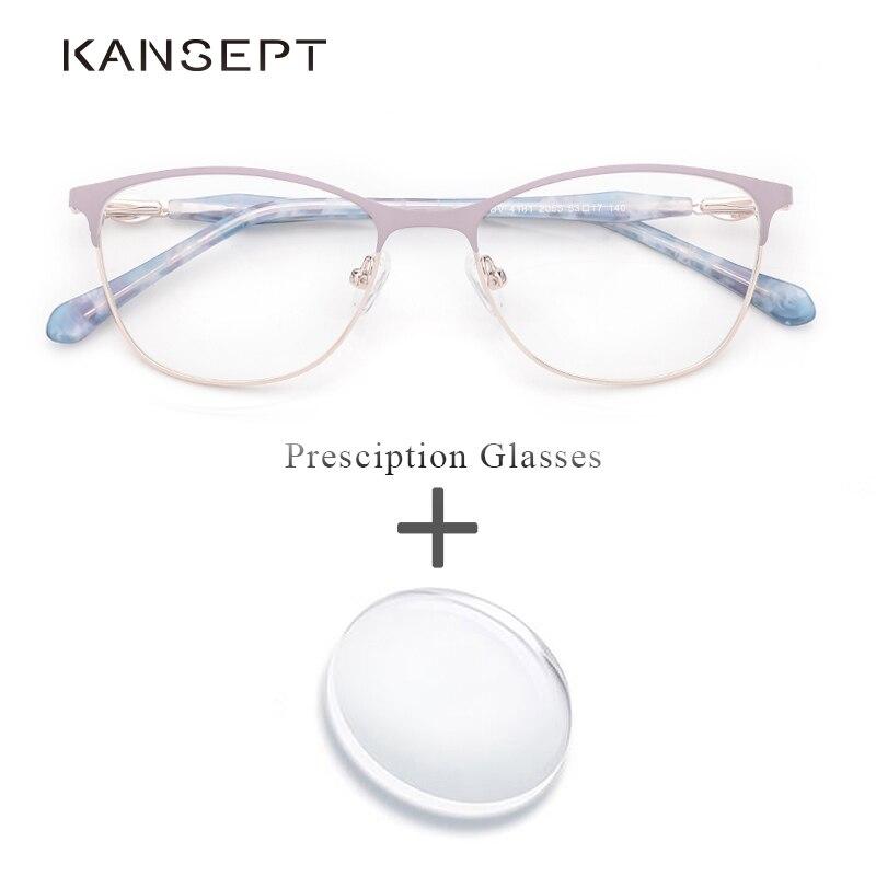 Metall Frauen Brillen Frauen Vintage Retro Myopie Progressive Blau Licht Übergang Lesen Brillen # Bv4181-2055 GroßE Sorten Korrektionsbrillen Bekleidung Zubehör