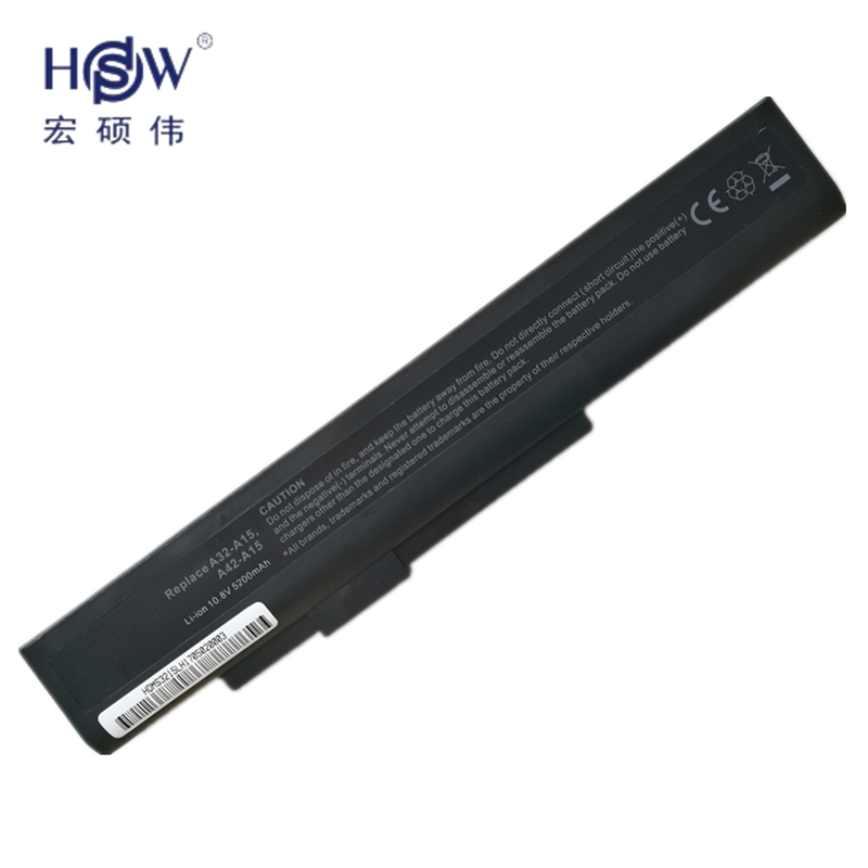Hsw notebook battery fordns 142750/153734/157296/157908/158636 гигабайт Q2532N A32-A15;  ...