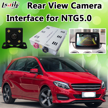 HD Reverse Camera Interface Module for 2015-2018 Mercedes Benz C/E/A/B/ML/GLK NTG 5.0 with Moving Parking Guideline image