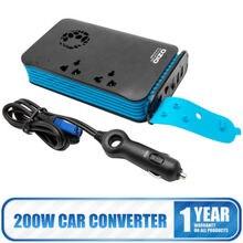 OZIO Car Converter Pocket Power Inverter DC 12V to AC 220V Invertor with USB