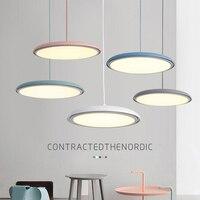 Nordic Post Modern LED Pendant Lights Restaurant Living Room Bar Kitchen Handing Lamps Industrial Luminaria Indoor Lighting