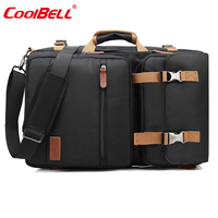 CoolBELL Large Capacity Backpack 17.3 Inch Men Notebook Computer Bag Women Travel Bag Multifunction Waterproof Laptop Backpack