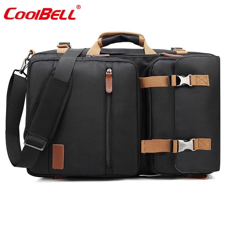 CoolBELL grande capacité sac à dos 17.3 pouces hommes ordinateur portable sac femmes sac de voyage multifonction étanche sac à dos pour ordinateur portable