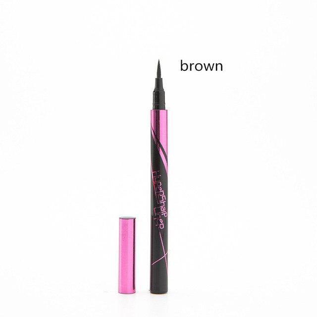 1PC Black Brown Waterproof Eyeliner Pencil Long-lasting Liquid Eye Liner Pen Pencil Make Up Tool 3