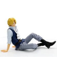 XINDUPLAN One Piece Anime Sabo Sitting Onepiece New World Revolutionary Army Action Figure Toys 12cm PVC Model 1012